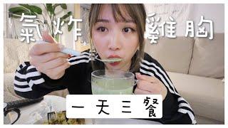 [일상VLOG]  全天都吃雞胸肉!! 一天三餐氣炸鍋 feat Foreo 🐝 Mira 咪拉