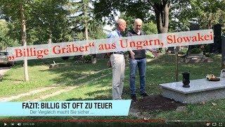 """Beweis-Video Teil 2: """"Billige"""" Grabsteine aus dem Osten und """"vergessene"""" Friedho"""