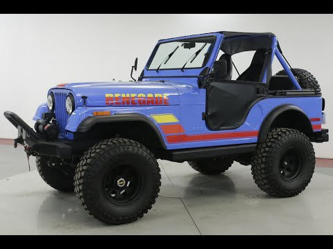 Video of '80 CJ5 - PZ5J