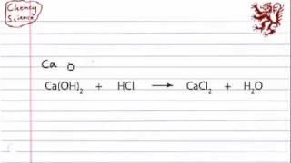 GCSE Science - Chemistry - Balancing Chemical Equations