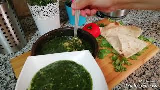 الملوخية بالجمبري من مطبخ مروة الشافعى
