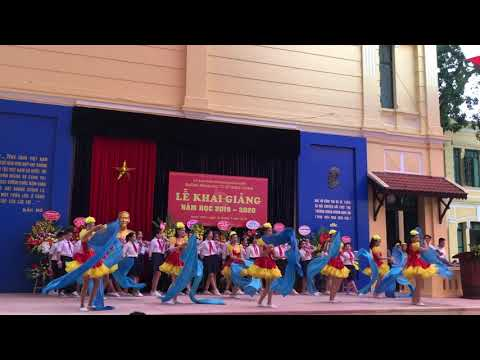 Liên khúc Em yêu Tổ quốc Việt Nam- Đồng ca HS THCS Trưng Vương