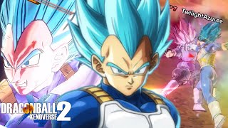 He Is The GREATEST! Playing SSB Vegeta In Dragon Ball Xenoverse 2!