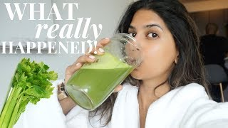 I drank CELERY JUICE for 7 Days and this is what happened...