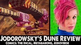 Ep71: Jodorowskys Dune Review + The Jodoverse Comics: The Incal, Metaberons