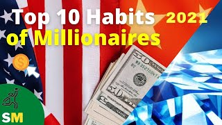 HABITS OF MILLIONAIRES    Think and act like a millionaire in 2021   Entrepreneur Motivation