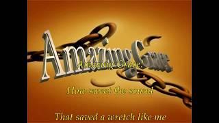 Amazing Grace (Harmonica) with  lyrics