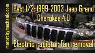 01-04 Jeep Grand Cherokee Hydraulic Fan Solenoid Mod, Remove