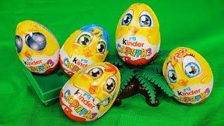 Киндер Сюрпризы Новинка Пасхальные яйца Видео для детей про Игрушки Сюрпризы и Мультики для детей