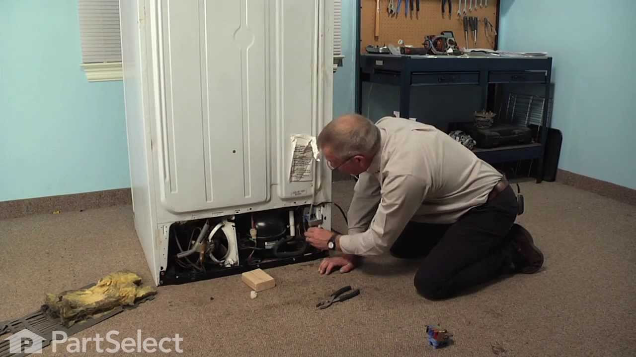 Replacing your General Electric Refrigerator Dual Inlet Water Valve