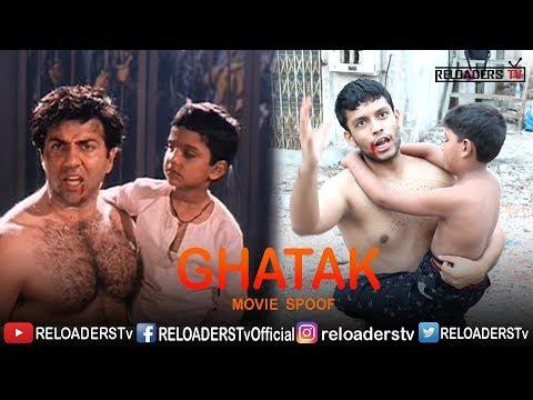 ghatak movie spoof sunny deol dialouges reloaders tv