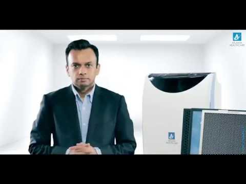 Atlanta Healthcare Air purifer - Universal 450 - Intro