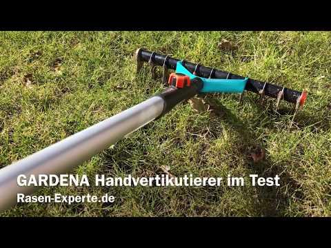 GARDENA Handvertikutierer im Test - Erfolgreich Moos entfernen und Rasen lüften