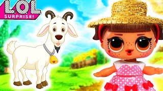 Куклы лол в деревне!новые серии с Lady Sofi 6+