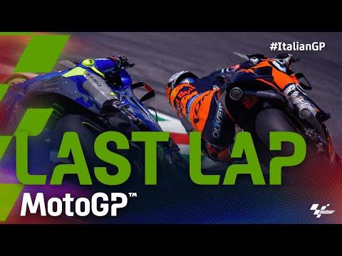 MotoGP 2021 第6戦イタリア 決勝レースのラストラップ動画