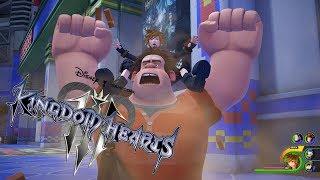 Kingdom Hearts 3 Gameplay (Wreck-It Ralph, Keyblades, Summons) - dooclip.me