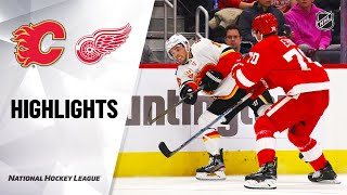 NHL Highlights | Flames @ Red Wings 02/23/20