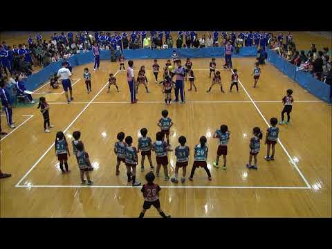第16回BSC幼稚園ドッジボール大会決勝戦 向原幼稚園VS杉之子幼稚園A