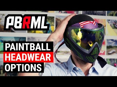 Paintball Headbands, Headwraps, Beanies & Other Head Protection