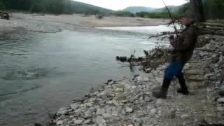 Рыбалка на севере хабаровского края