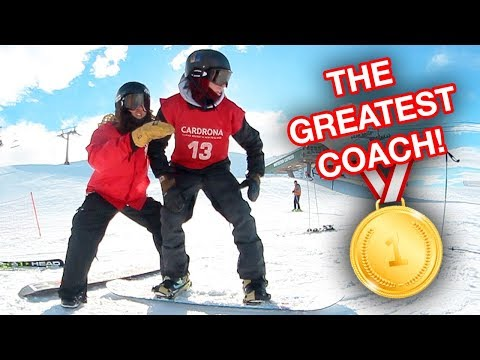 THE GREATEST SNOWBOARD COACH EVER!