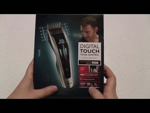 Phillips HC9450 Hair clippers – Unboxing & Review