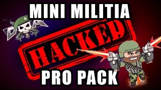 Mini Militia Pro Pack Hacking (FIRST ON NET) in Android
