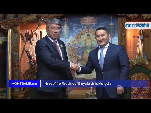 Head of the Republic of Buryatia visits Mongolia