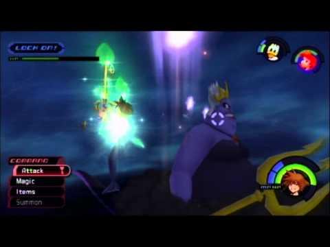 Kingdom Hearts Fm Ps3 Playthrough 047 Atlantica 4 4 Boss Ursula