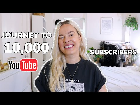 10,000 SUBSCRIBERS – THE JOURNEY