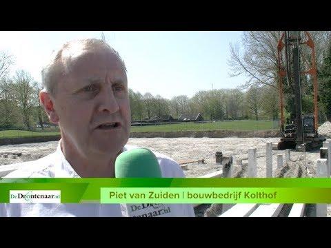 VIDEO | Start bouw appartementen Dierenweide: geen zwembad, wel twee penthouses