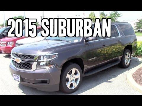 2015 Chevrolet Suburban Review