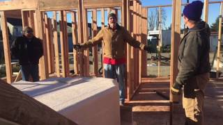 Donnelly Habitat House Build Nov 2017