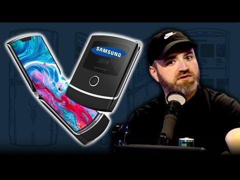 The Samsung Galaxy Razr Fold