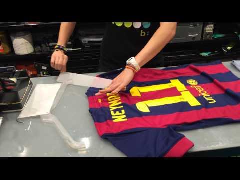 Nhật Long & Neymar Trikot- Made in Barcelona 2014