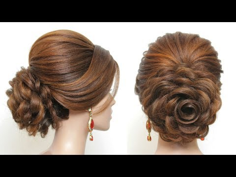 Juda Hairstyle French Roll For Long Medium Hair Tutorial