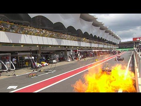 Chaos on the Opening Lap   2009 Brazilian Grand Prix