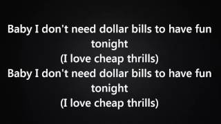 Sia - Cheap Thrills Ft. Sean Paul [Lyrics] - YouTube