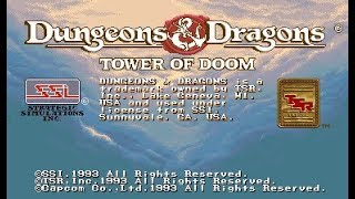 Dungeons and Dragons: Tower of Doom - Hardest 1cc - Cleric speed run 23:16!
