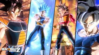Kakarotto Ultra Dlc Mod Pack w/Custom Animated Transformations and Moveset | Dragon Ball Xenoverse 2