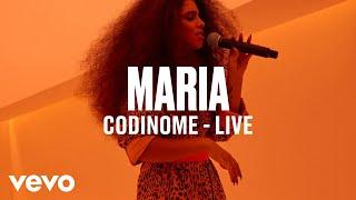 """MARIA   """"Codinome"""" (Live)   Vevo DSCVR"""