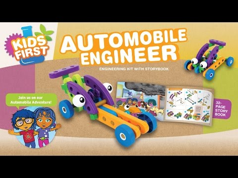 Youtube Video for Automobile Engineering Kit - with Storybook!