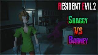 Barney Vs Shaggy On Resident Evil 2 Remake