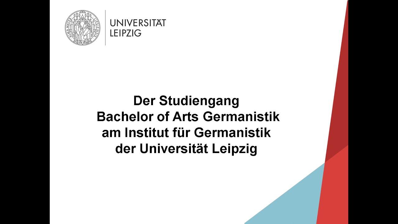 Video: Vorstellung Bachelorstudiengang