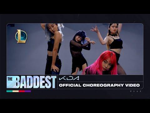 K/DA 新單曲《The BADDEST》真人舞蹈版影片