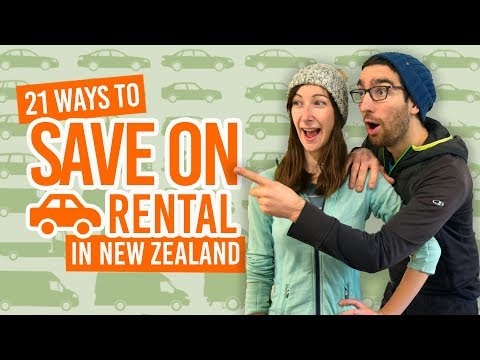 21 Ways to Save Money on Car & Campervan Rental in New Zealand