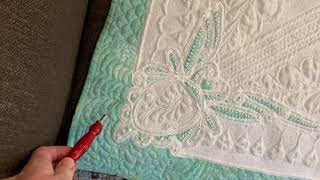How Did I Quilt That: Vintage Tablecloth 2.0