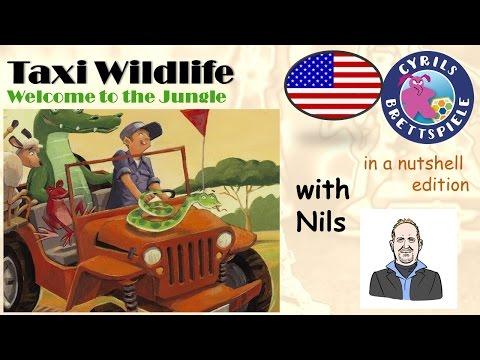 Cyrils Brettspiele - in a nutshell Edition (eng.) - Taxi Wildlife - N08