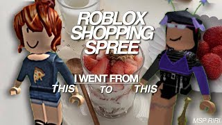 ROBLOX SHOPPING SPREE! ($1000+ spent) + lookbook!