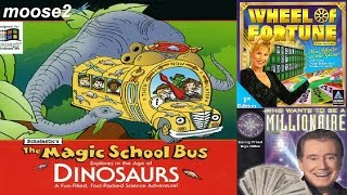 Magic School Bus / Wheel of Fortune/ Millionare - brutalmoose stream archive